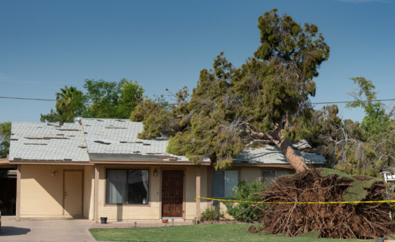 Your Roof and Arizona Monsoons